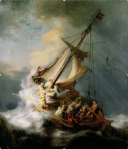 storm on Galilee