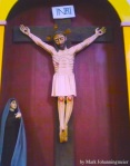 Crucifix from Misson Espiritu in Goliad,TX