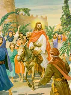 Jesus on the Donkey